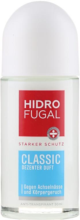 Guľôčkový antiperspirant - Hidrofugal Classic Roll-on