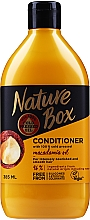 Voňavky, Parfémy, kozmetika Hydratačný kondicionér s macadamským olejom - Nature Box Macadamia Oil