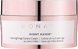 Voňavky, Parfémy, kozmetika Protistarnúci nočný krém na tvár - Monat Night Haven Overnight Age Control Cream