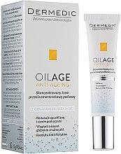 Voňavky, Parfémy, kozmetika Krém-koncentrát na viečka - Dermedic Oilage Concentrated Anti-Wrinkle Eye Cream