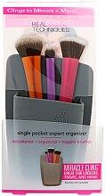 Voňavky, Parfémy, kozmetika Organizér na štetce, šedý - Real Techniques Single Pocket Expert Organizer Grey