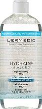 Voňavky, Parfémy, kozmetika Micelárna voda pre suchú pokožku - Dermedic Hydrain3 Hialuro Micellar Water