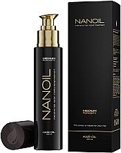 Voňavky, Parfémy, kozmetika Olej na vlasy so strednou pórovitosťou - Nanoil Hair Oil Medium Porosity