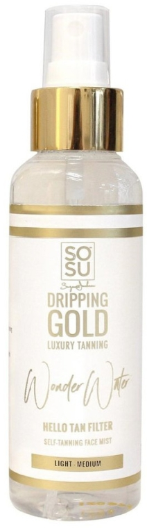 Opaľovací filter - Sosu by SJ Luxury Tanning Dripping Gold Wonder Water — Obrázky N1