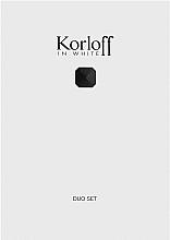 Voňavky, Parfémy, kozmetika Korloff Paris Korloff In White - Sada (edt/88ml + sh/gel/150ml)