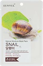 Voňavky, Parfémy, kozmetika Textilná maska so slimačím mucínom - Eunyul Natural Moisture Mask Pack