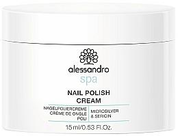 Voňavky, Parfémy, kozmetika Krém na nechty - Alessandro International Spa Nail Polish Cream