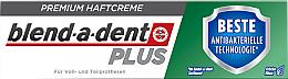 Voňavky, Parfémy, kozmetika Fixačný krém na zubnú protézu - Blend-A-Dent Premium Adhesive Cream Plus Dual Protection Fresh
