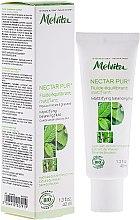 Voňavky, Parfémy, kozmetika Matovacia tekutina na tváre - Melvita Nectar Pur Fluide Hydratant Matifiant