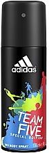 Voňavky, Parfémy, kozmetika Adidas Team Five - Deodorant