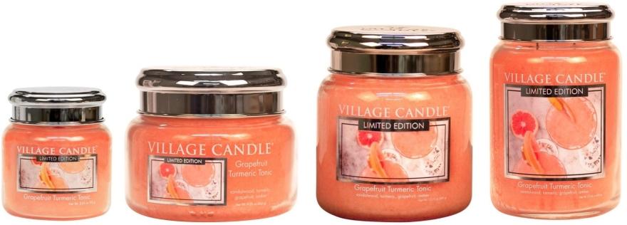 Vonná sviečka v nádobe - Village Candle Grapefruit Turmeric Tonic Glass Jar — Obrázky N3