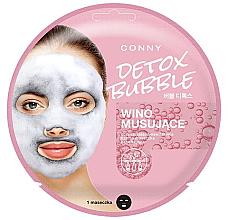 Voňavky, Parfémy, kozmetika Bublinková maska na tvár - Conny Bubble Detox Wino Musujace