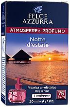 Voňavky, Parfémy, kozmetika Elektrický difúzor - Felce Azzurra Summer Night (vymeniteľná jednotka)