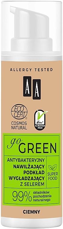 Podklad s antibakteriálnym účinkom - AA Go Green Foundation