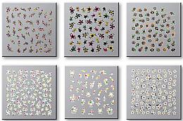 Voňavky, Parfémy, kozmetika Sada nálepiek na nechty 42737 - Top Choice Nail Decorations Stickers Set