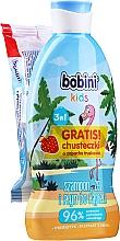Voňavky, Parfémy, kozmetika Sada - Bobini Kids (shm-gel/330ml + wet wipes/15pc)