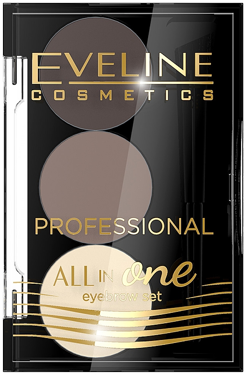 Sada pre make-up a styling obočia - Eveline Cosmetics All In One Eyebrow Styling Set