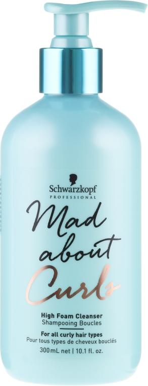Bezsulfátny šampón pre kučeravé vlasy - Schwarzkopf Professional Mad About Curls High Foam Cleanser Shampoo