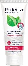 """Voňavky, Parfémy, kozmetika Regeneračný antibakteriálny krém na ruky """"Aktívna regenerácia"""" - Perfecta Pharmacy Regenerating Hand Cream Anti-bacterial"""