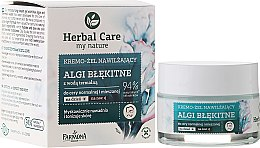 Voňavky, Parfémy, kozmetika Zvlhčujúci krém pre tvár - Farmona Herbal Care Blue Algae Cream