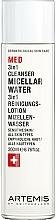 Voňavky, Parfémy, kozmetika Micelárna voda - Artemis of Switzerland Med 3in1 Cleanser Micellar Water