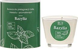 Voňavky, Parfémy, kozmetika Sviečka na masáž tela - _Element Basil
