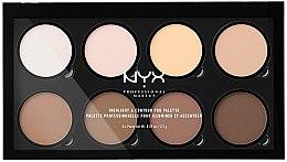 Voňavky, Parfémy, kozmetika Kontúrovacia paleta - NYX Professional Makeup Highlight & Contour Pro Palette