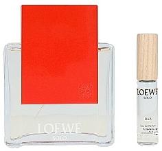 Voňavky, Parfémy, kozmetika Loewe Solo Loewe Ella - Sada (edp/100ml + edp/7.5ml)
