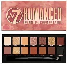 Voňavky, Parfémy, kozmetika Paleta očných tieňov - W7 Romanced Eyeshadow Palette