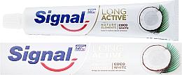 Voňavky, Parfémy, kozmetika Zubná pasta - Signal Long Active Nature Elements Coco White