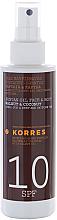 Voňavky, Parfémy, kozmetika Olej na opaľovanie - Korres Clear Sunscreen Body Face Walnut Coconut Oil SPF10
