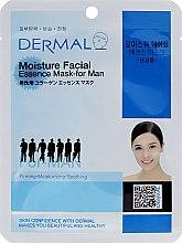 Voňavky, Parfémy, kozmetika Hydratačná maska s kolagénom pre mužov - Dermal Moisture Facial Mask for Men