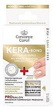 Voňavky, Parfémy, kozmetika Spevňovač na nechty s keratínom - Constance Carroll Nail Care Kera-Bond After Hybrid