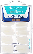 Voňavky, Parfémy, kozmetika Tipy na nechty, k/k - Silcare Tipsy Exellent Natural