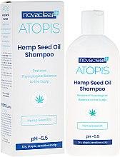 Voňavky, Parfémy, kozmetika Šampón s organickým konopným olejom - Novaclear Atopis Hemp Seed Oil Shampoo