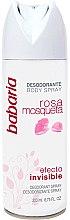 Voňavky, Parfémy, kozmetika Dezodoračný sprej - Babaria Rose Hip Invisible Effect Deodorant Spray