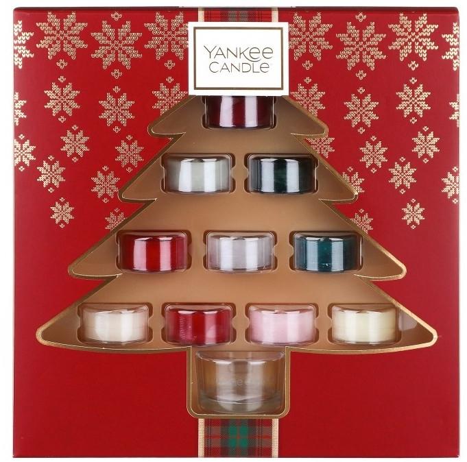Sada sviečok - Yankee Candle Alpine Christmas (candle/10x9.8g) — Obrázky N1
