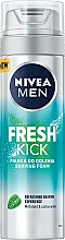 Voňavky, Parfémy, kozmetika Pena na holenie - Nivea For Men Fresh Kick Shaving Foam