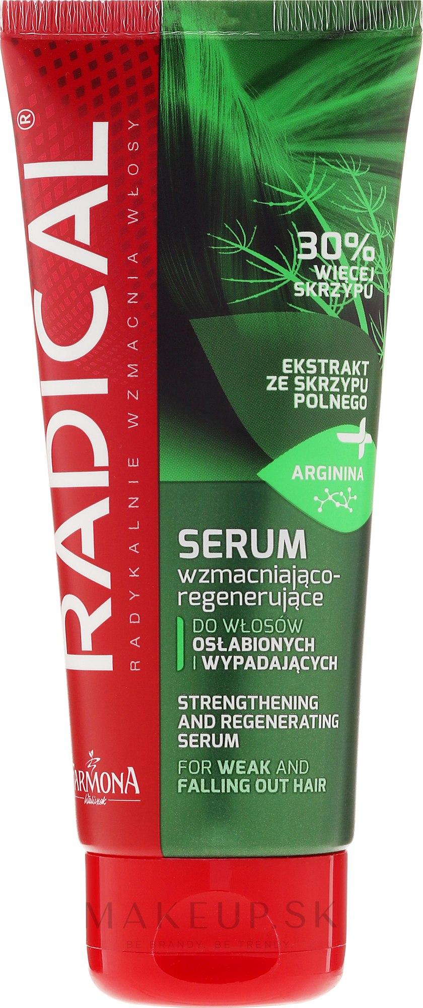 Serum spevňujúci pre slabé a poškodené vlasy - Farmona Radical Serum — Obrázky 100 ml
