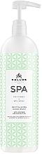 Voňavky, Parfémy, kozmetika Regeneračný gél na umývanie rúk - Kallos SPA Revitalizing Avocado & Coconut Oil Hand Wash