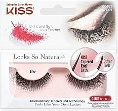 Voňavky, Parfémy, kozmetika Falošné riasy - Kiss Look So Natural Lashes Shy