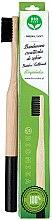 Voňavky, Parfémy, kozmetika Bambusová kefka na zuby, mäkká, čierna - Biomika Natural Bamboo Toothbrush