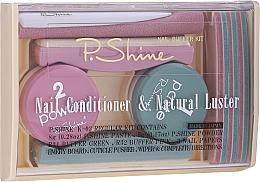 Voňavky, Parfémy, kozmetika Sada - P.Shine (n/paste/8g + n/puder/5g + n/pol/5pcs + n/file/1pcs + n/acc/1pcs)