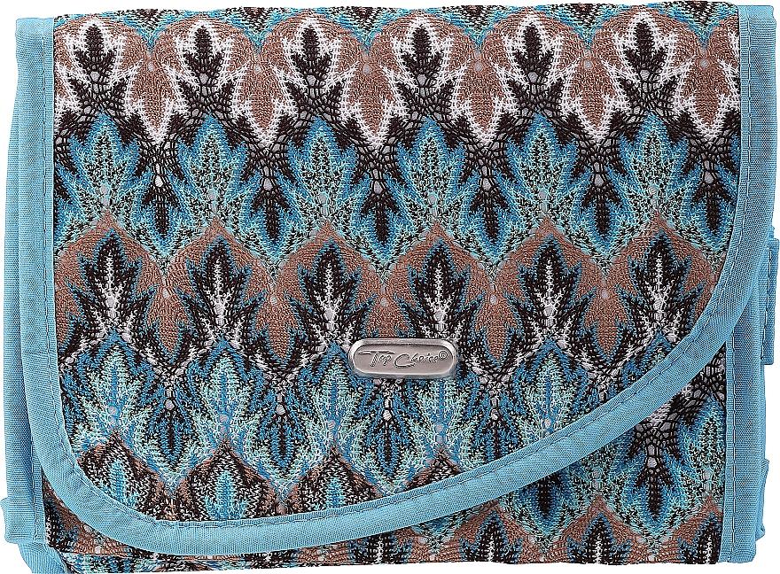 """Kozmetická taška """"Boho"""" 94163, modrá - Top Choice — Obrázky N1"""