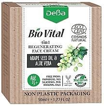 Voňavky, Parfémy, kozmetika Regeneračný krém na tvár 4 v 1 - DeBa Bio Vital Regenerating Face Cream 4in1
