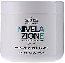 Voňavky, Parfémy, kozmetika Maska na nohy, upokojujúca - Farmona Nivelazione Softening Foot Mask