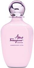 Voňavky, Parfémy, kozmetika Salvatore Ferragamo Amo Ferragamo Flowerful - Lotion na telo so shimmerom