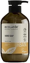 "Voňavky, Parfémy, kozmetika Tekuté mydlo na ruky ""Mandarínka a mäta"" - Ecolatier Urban Liquid Soap"