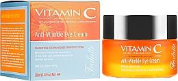 Voňavky, Parfémy, kozmetika Krém pre viečka, proti vráskam - Frulatte Vitamin C Anti-Wrinkle Eye Cream