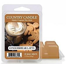 Voňavky, Parfémy, kozmetika Vosk pre aromatickú lampu - Country Candle Gingerbread Latte Wax Melts